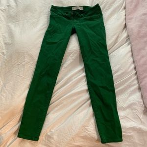 Abercrombie & Fitch Jeans - Green Skinny jeans